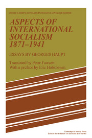 Aspects of International Socialism, 1871–1914