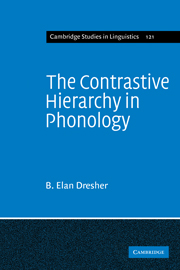 The Contrastive Hierarchy in Phonology
