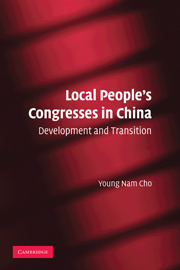 Local People's Congresses in China