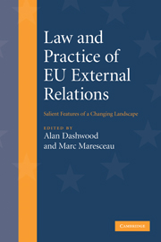 Law and Practice of EU External Relations