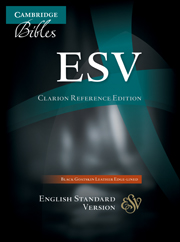 ESV Clarion Reference Bible, Black Edge-lined Goatskin Leather, ES486:XE