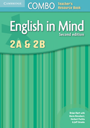 English in Mind Levels 2A and 2B