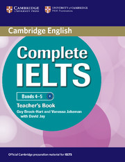 Complete IELTS Bands 4–5 Teacher's Book