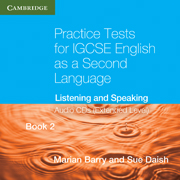Practice Tests for IGCSE English as a Second Language Book 2 (Extended Level) Audio CDs (2)