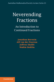 Neverending Fractions