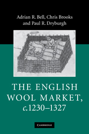 The English Wool Market, c.1230–1327