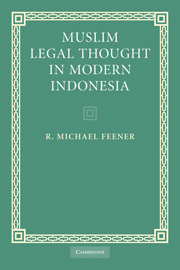 Muslim Legal Thought in Modern Indonesia