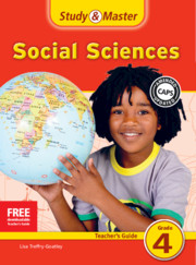 Study & Master Social Sciences Teacher's Guide Grade 4