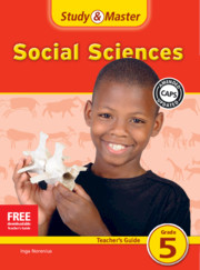 Study & Master Social Sciences Teacher's Guide Grade 5