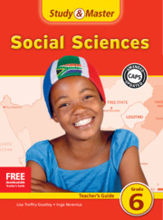 Study & Master Social Sciences Teacher's Guide Grade 6