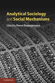 Analytical Sociology and Social Mechanisms