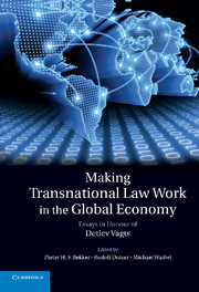 Making Transnational Law Work in the Global Economy
