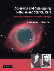 Observing and Cataloguing Nebulae and Star Clusters