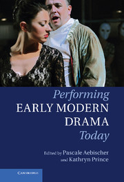 Performing Early Modern Drama Today