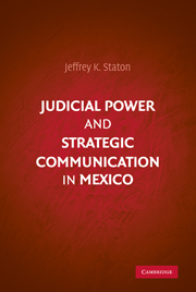 Judicial Power and Strategic Communication in Mexico