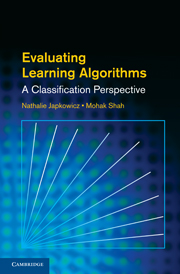 Evaluating Learning Algorithms