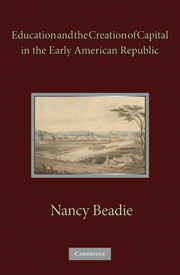 Education and the Creation of Capital in the Early American Republic