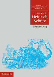 Histories of Heinrich Schütz