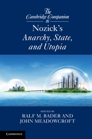 The Cambridge Companion to Nozick's <I>Anarchy, State, and Utopia</I>