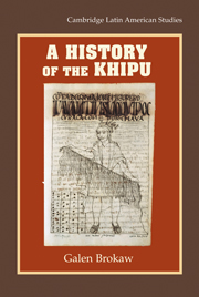 A History of the Khipu