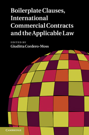 Boilerplate clauses international commercial contracts and the boilerplate clauses international commercial contracts and the applicable law fandeluxe Image collections