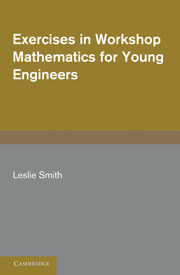 Exercises in Workshop Mathematics for Young Engineers