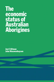 The Economic Status of Australian Aborigines