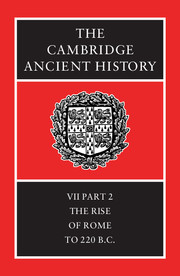 The Cambridge Ancient History Edited By F W Walbank