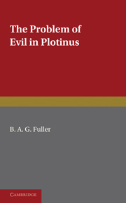 The Problem of Evil in Plotinus