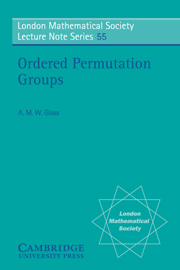 Ordered Permutation Groups