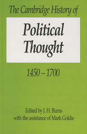 The Cambridge History of Political Thought 1450–1700
