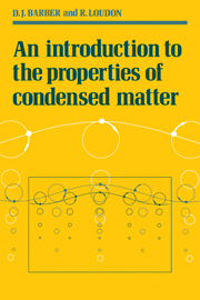 An Introduction to the Properties of Condensed Matter