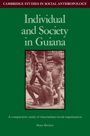 Individual and Society in Guiana