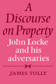 A Discourse on Property