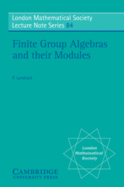 Finite Group Algebras and their Modules