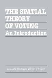 The Spatial Theory of Voting