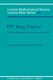 FPF Ring Theory