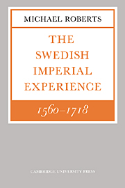 The Swedish Imperial Experience 1560–1718