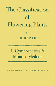 The Classification of Flowering Plants