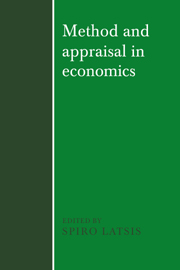 Method and Appraisal in Economics
