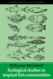 Ecological Studies in Tropical Fish Communities