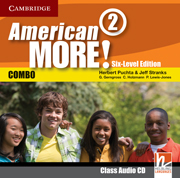 American More! Six-Level Edition Level 2 Class Audio CD
