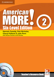 American More! Six-Level Edition Level 2
