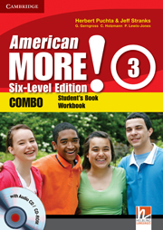 American More! Six-Level Edition Level 3