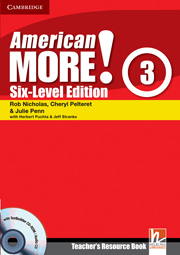 American More! Six-Level Edition Level 3 Teacher's Resource Book with Testbuilder CD-ROM/Audio CD