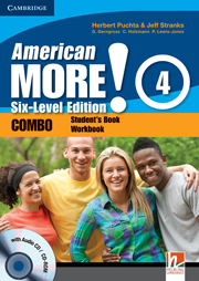 American More! Six-Level Edition Level 4 Combo with Audio CD/CD-ROM