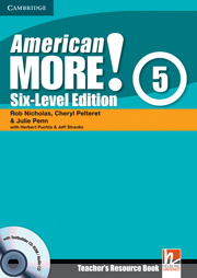 American More! Six-Level Edition Level 5