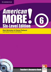 American More! Six-Level Edition Level 6