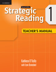 Strategic Reading Level 1 Teacher's Manual