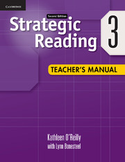 Strategic Reading Level 3 Teacher's Manual